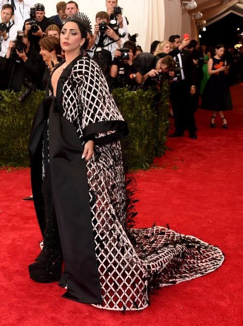 Lady Gaga in custom Balenciaga