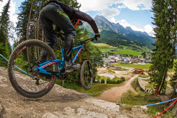 2014 Leogang UCI World Cup Downhill: Claudio Caluori's Track Preview