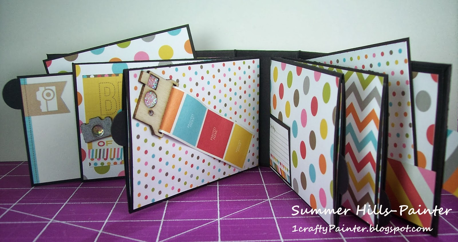 How to scrapbook photo album