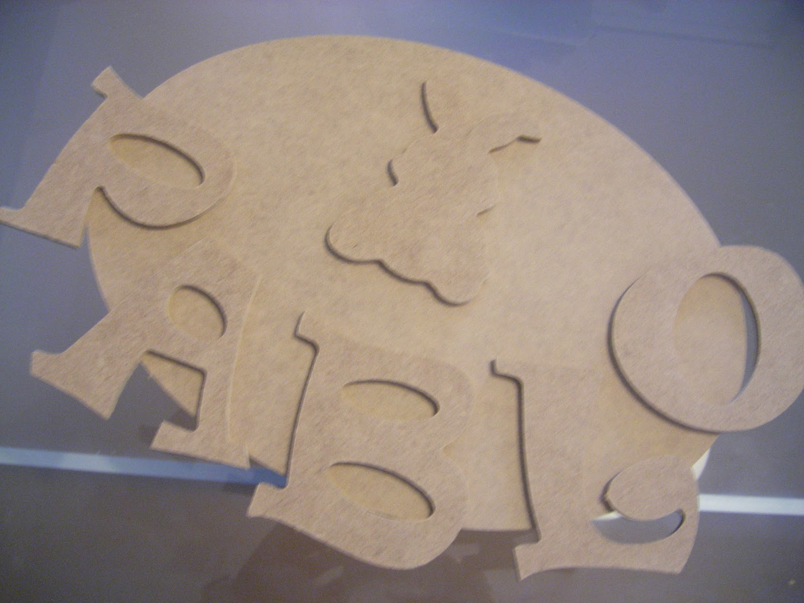 Letras en madera para decorar decoraci n infantil - Manualidades sobre madera ...