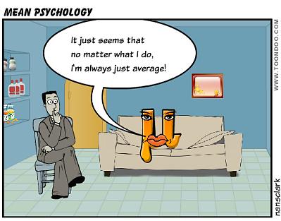 mean psychology a statistics cartoon cartoon thursday
