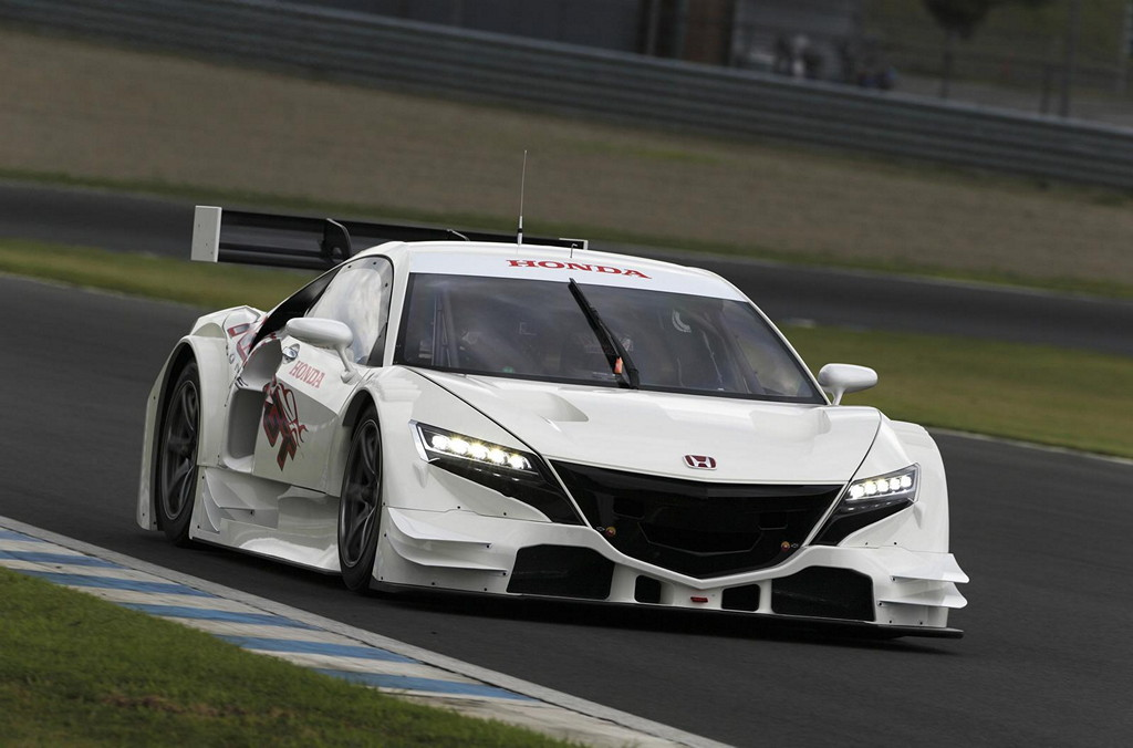 Honda Acura NSX II, Concept, Super GT 2014, wyścigi, racing, nowa, japoński sportowy samochód, następca