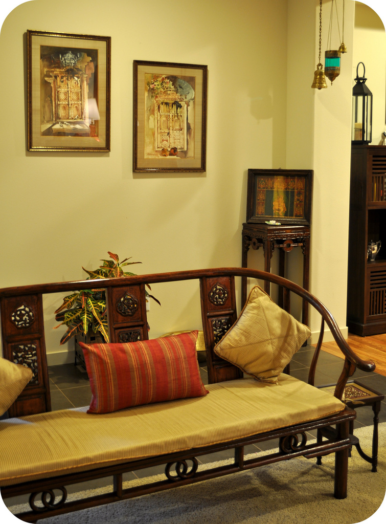 My dream canvas diwali wishes for Indian ethnic living room designs