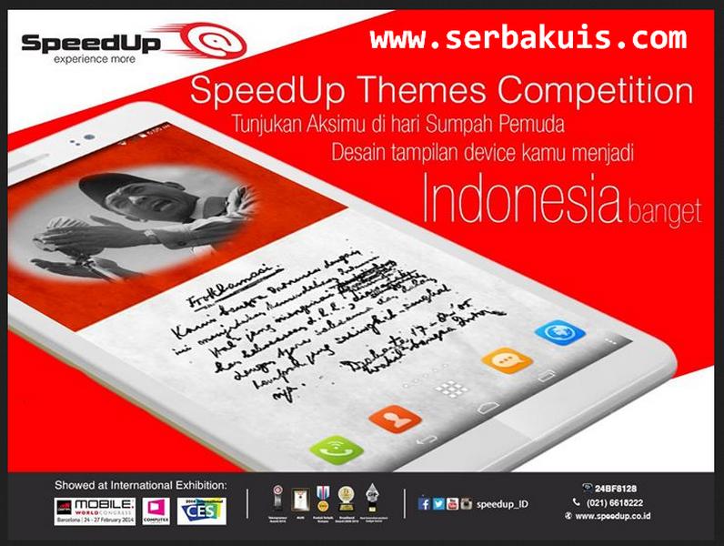 Themes Competition Berhadiah SpeedUp Pad 7s, Modem & Pulsa