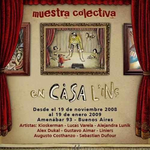 Muestra de ilustradores en Casa Linc