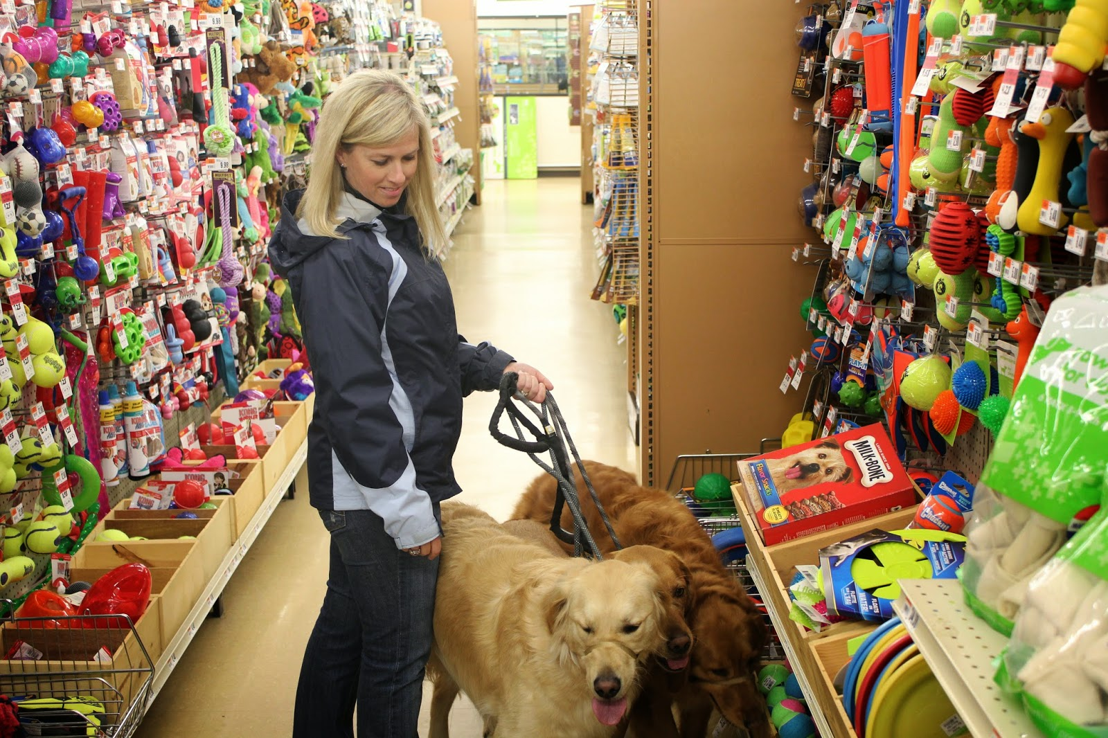 toy section pet supplies plus store giveaway