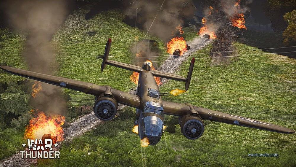 Warthunder Bomberangriff