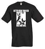 Better Dead Than Red T Shirts