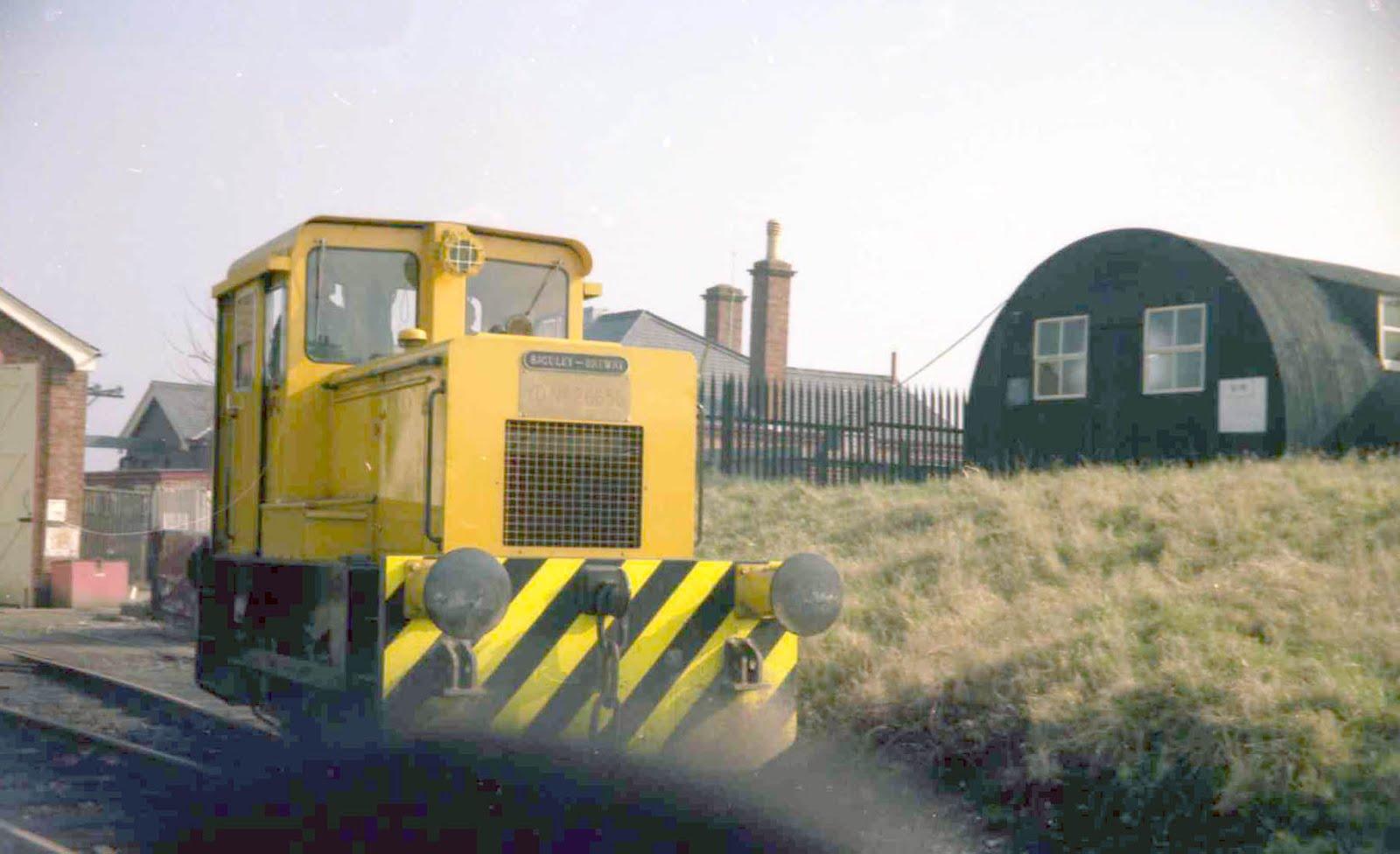 Bedenham shunter 1986
