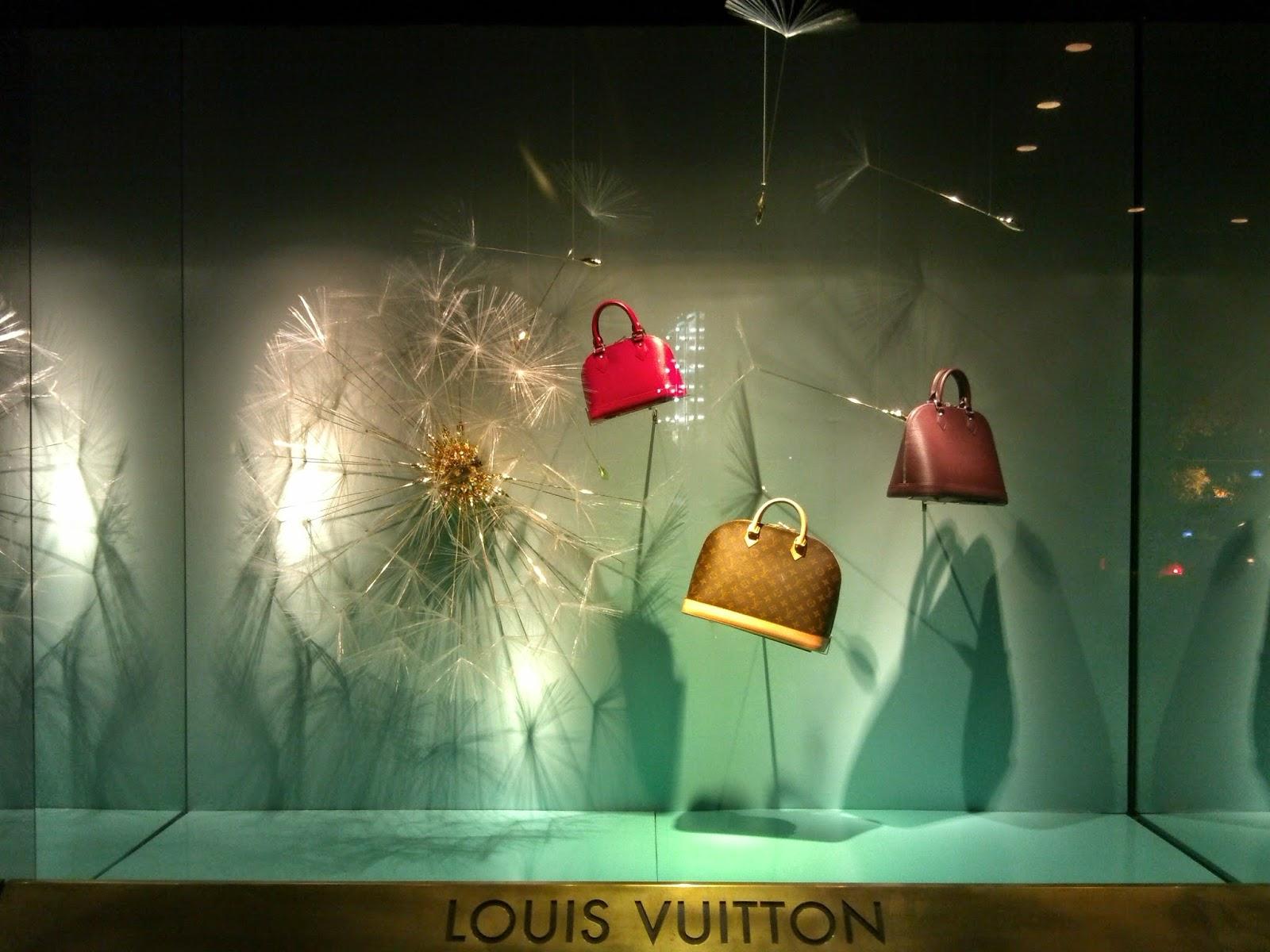 Displayhunter2 louis vuitton dandelion for Window brands