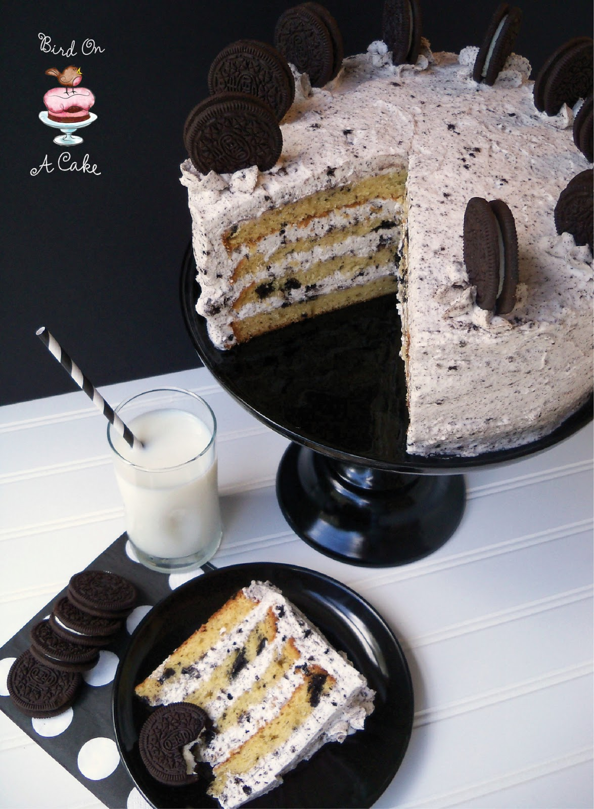 Bird On A Cake: Oreo Cookies and Cream Cake