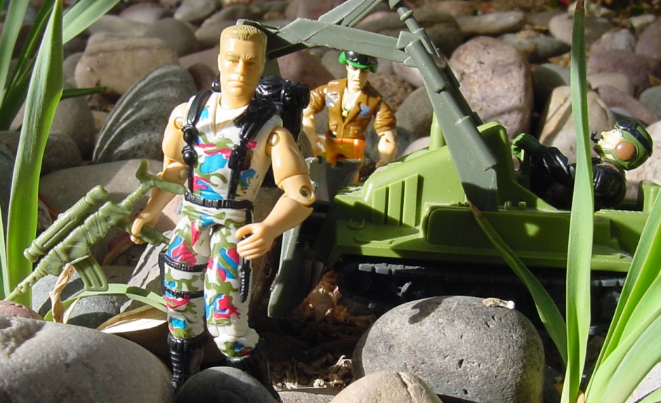 1995 Night Fighter Guile, Street Fighter, 1991 Grunt, 1985 Heavy Metal, Bomb Disposal
