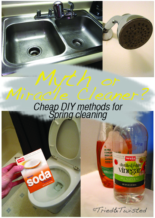 Myth or Miracle Cleaner? DIY Cleaners | Tried & Twisted