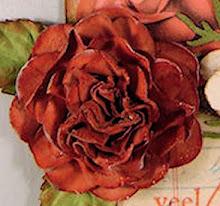 vintage rose van papier