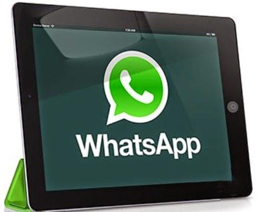 instll whatsapp for ipad