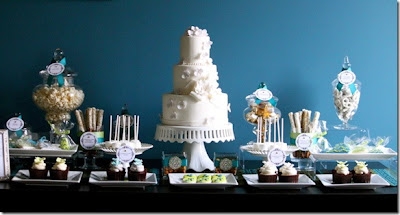 Cheap Wedding Cake Table Decorations Ideas