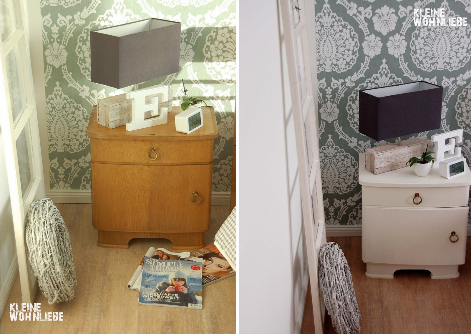 kleine wohnliebe fundst ck der woche kreidefarbe. Black Bedroom Furniture Sets. Home Design Ideas