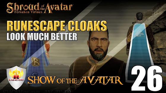 Shroud Of The Avatar Cloaks - Runescape Cloaks Look Better