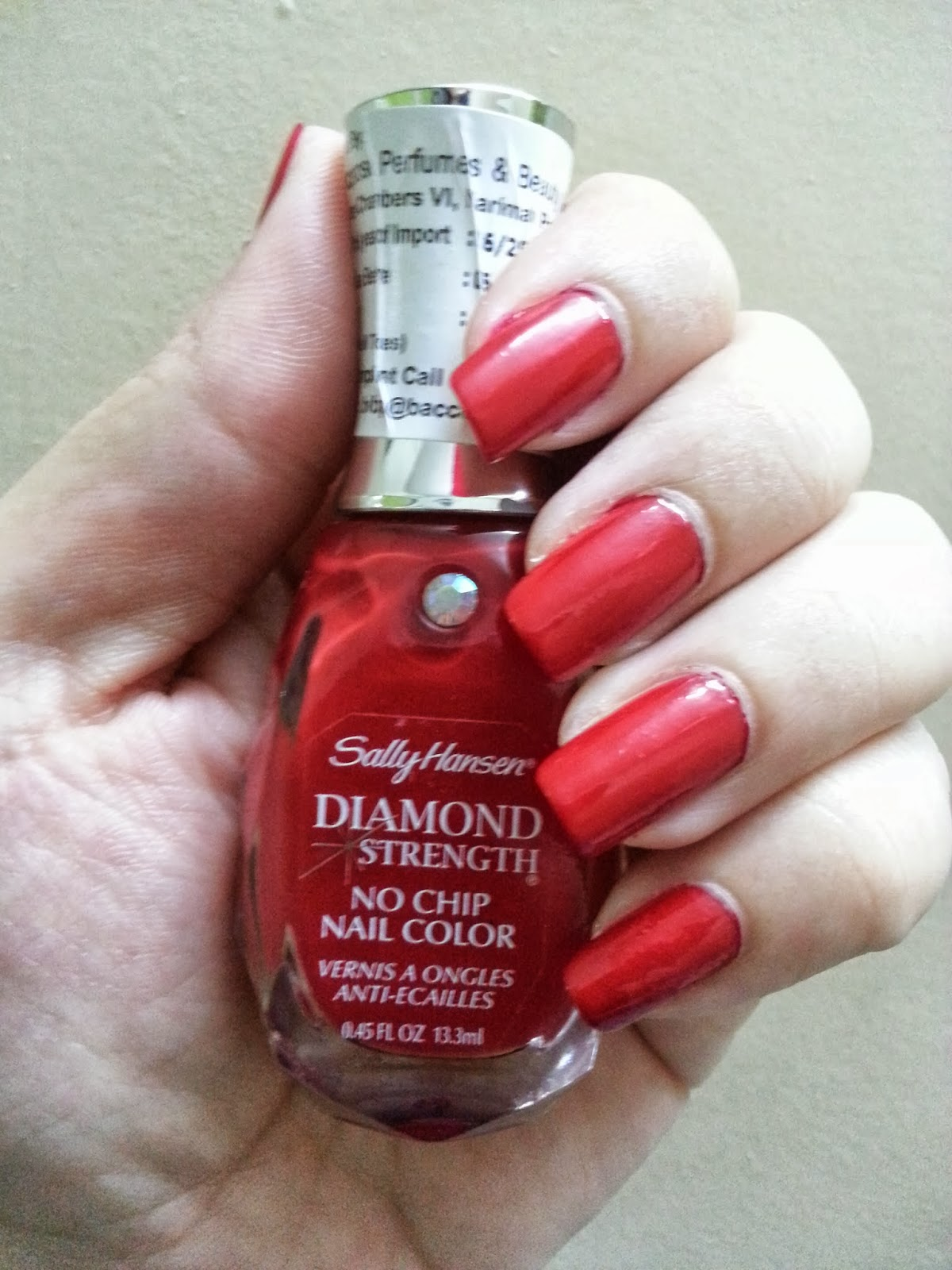 MissBoPeep: Review Sally Hansen Diamond Strength No Chip Nail Color ...