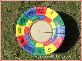 Sundial wesens-art.blogspot.com
