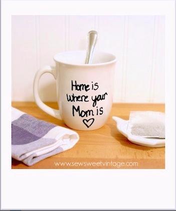 how to make a DIY sharpie mug
