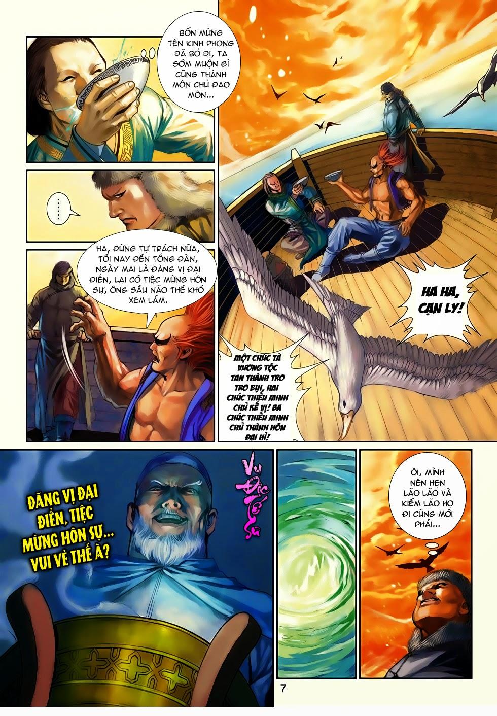 Thần Binh Tiền Truyện 4 - Huyền Thiên Tà Đế chap 10 - Trang 7