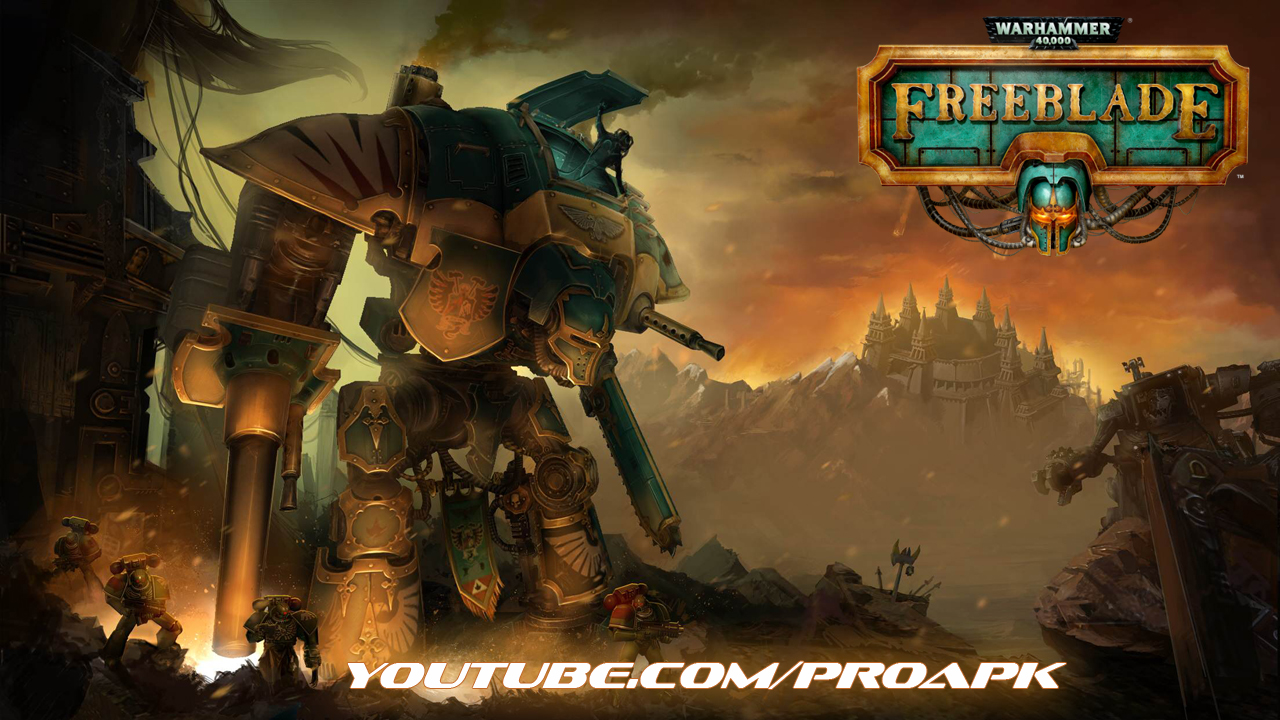 Warhammer 40,000: Freeblade Gameplay IOS / Android