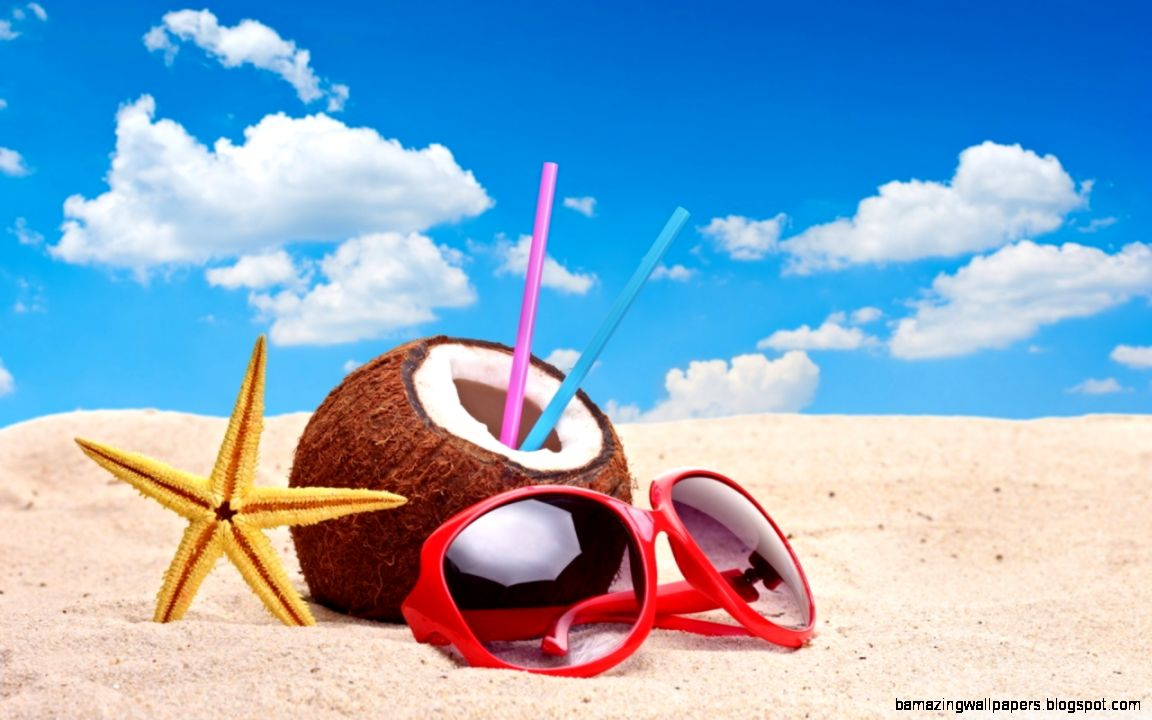 Summer Beach HD desktop wallpaper  High Definition  Fullscreen