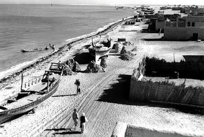 Abu Dhabi Corniche (1954) Abu Dhabi rare old pictures