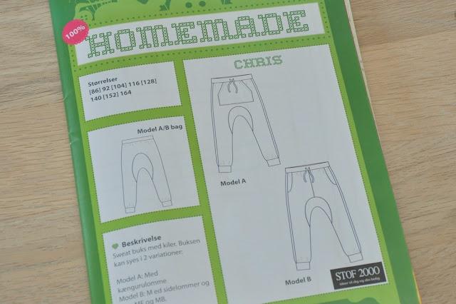 Chris bukse mønster