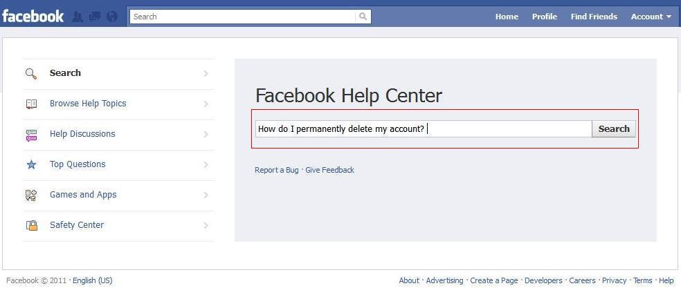 Search Facebook Help Center Facebook - 39.4KB
