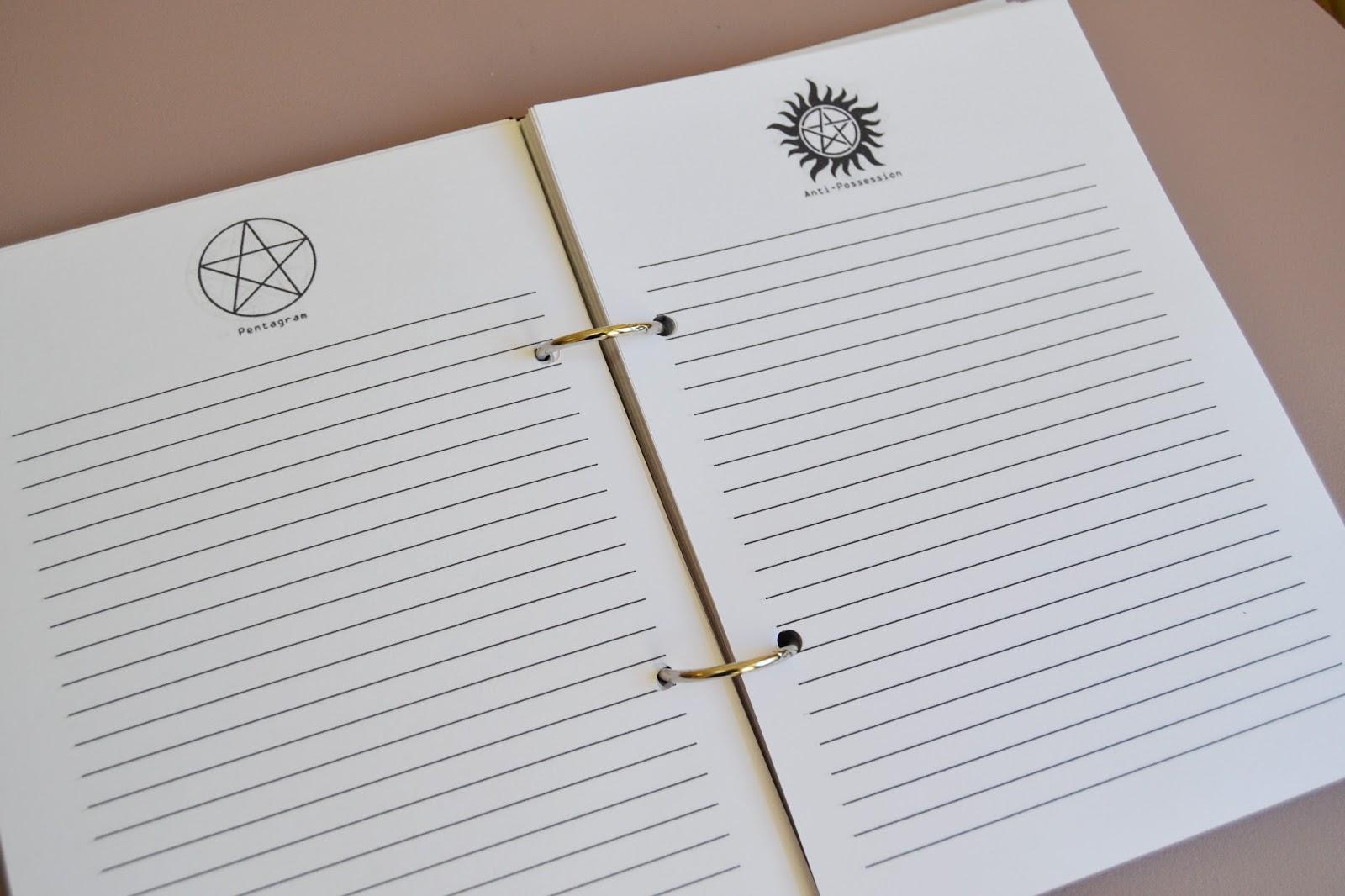 Дневник джона винчестера своими руками 85