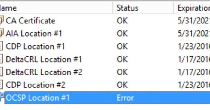 how to fix ocsp error