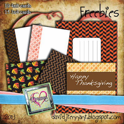 Thanksgiving Project Life Cards
