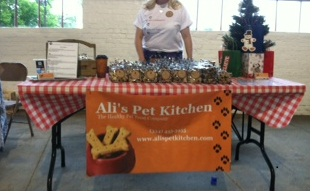 Ali's Pet Kitchen Booth