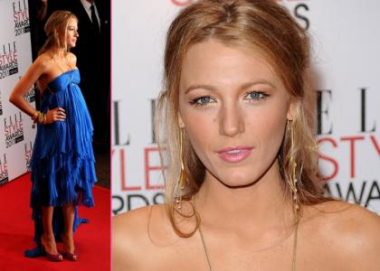 Blake Lively Panties on Blake Lively At The Elle Style Awards 2011