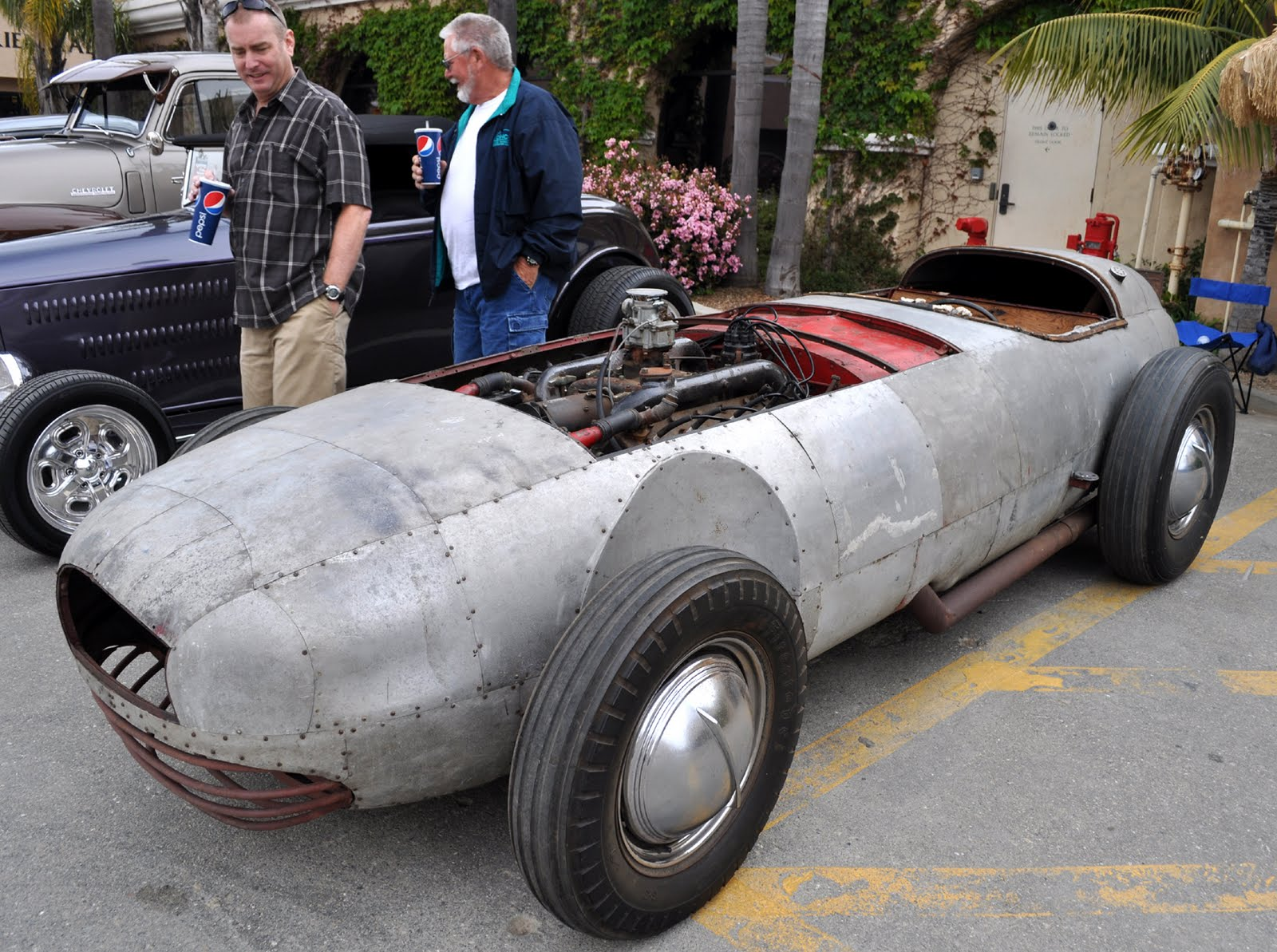 Car Made In Aluminum : Just a car guy school s in this is visual lesson
