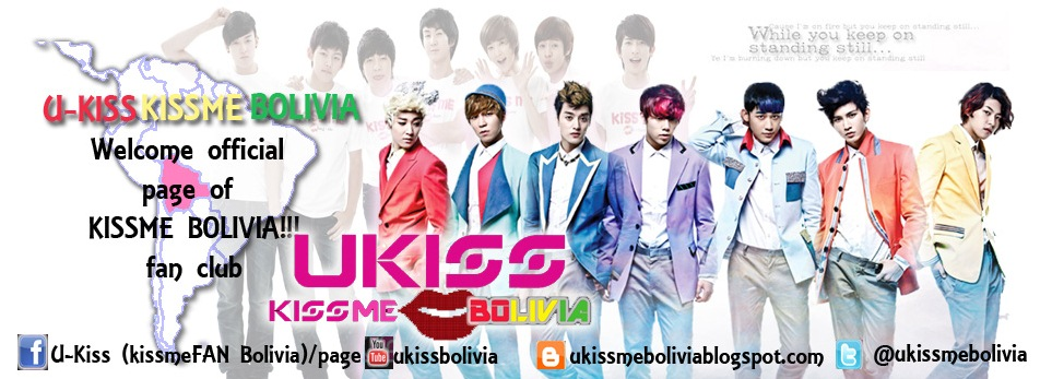 U-kiss KissMe Bolivia 유키스