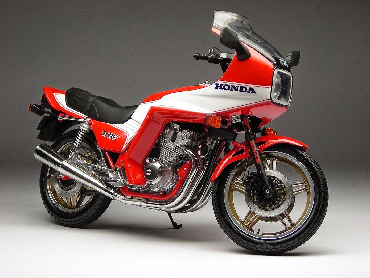 racing scale models honda cb 750 f2 bol d 39 or 1981 by max moto modeling tamiya. Black Bedroom Furniture Sets. Home Design Ideas