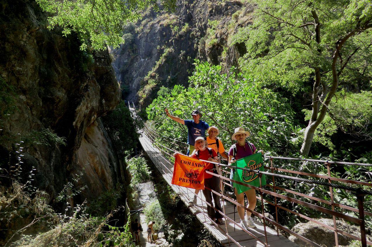 Comando preston: Cahorros de Monachil (Parque Nacional de Sierra Nevada)
