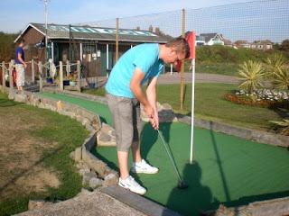 Solent Springs Adventure Golf course in Gosport, Hampshire