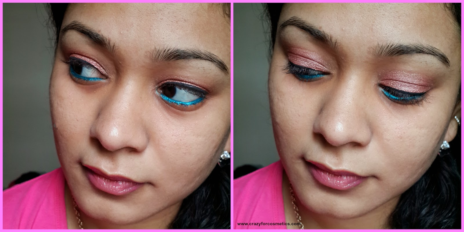 faces canada glam on mono eyeshadow in ruby quartz-faces canada glam on mono eyeshadow in ruby quartz review-faces canada glam on mono eyeshadow in ruby quartz swatches-faces canada glam on mono eyeshadow in ruby quartz India online-eyesadow for navrathri - festive makeup look