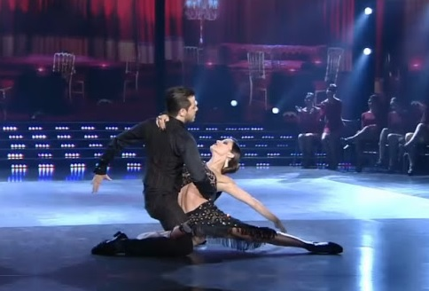 * Lourdes Sánchez y Fer Dente lujo para el Tango