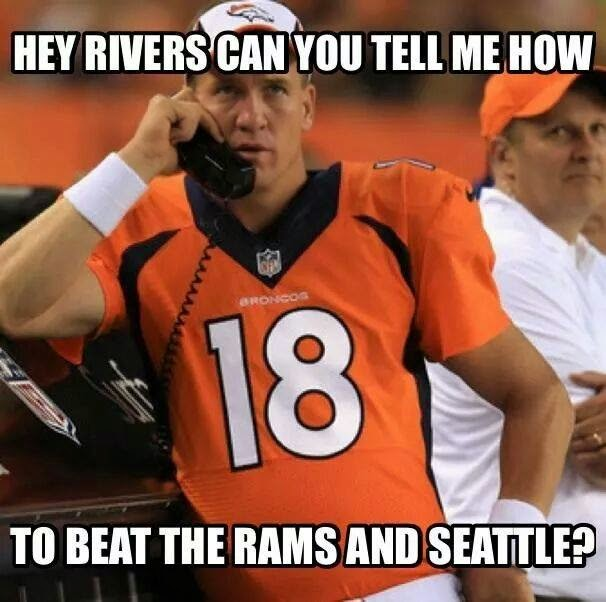 hey rivers can you tell me how to beat the rams and seattle?