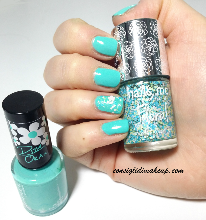 Notd: Roll in the Grass Rimmel & Garden Floral Richmond Nails Inc