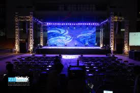 Tỏ chức sự kiện Trần Gia - Thiết kế, dàn dựng sân khấu