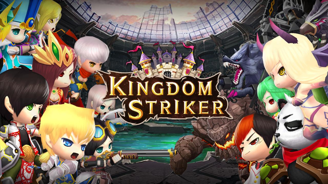 Kingdom Striker (KR) Gameplay Android
