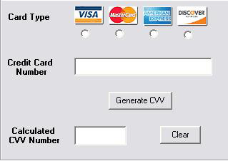 Credit expiry with and card generator free cvv2 date