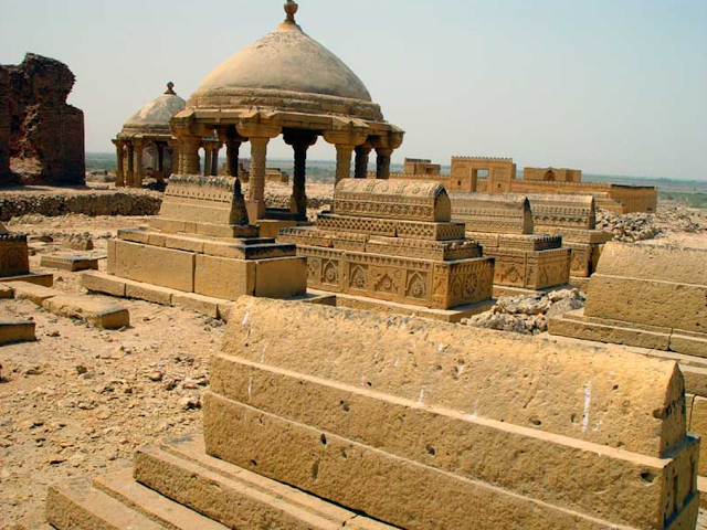Ancient Makli graveyard
