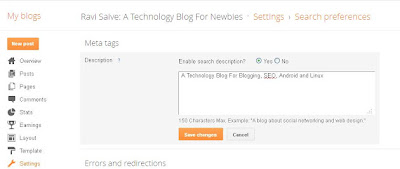SEO Pack for Blogger